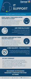 IT Support Infographic